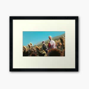 Sunflower Plains || Tommy and Tubbo Framed Art Print RB1506 product Offical Tubbo Merch
