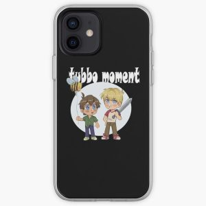 Tubbo moment iPhone Soft Case RB1506 product Offical Tubbo Merch