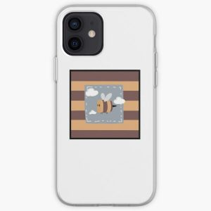 Tubbo bee skin design fanart  iPhone Soft Case RB1506 product Offical Tubbo Merch