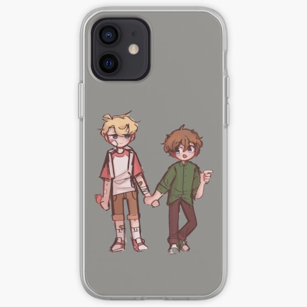 tommy and tubbo iPhone Soft Case RB1506 product Offical Tubbo Merch