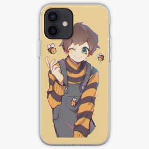 Tubbo with bees art iPhone Soft Case RB1506 product Offical Tubbo Merch