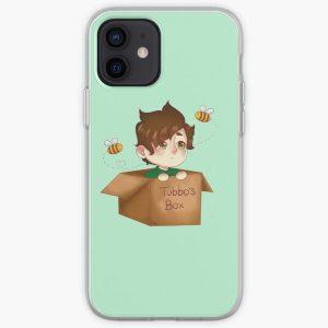tubbo in a box iPhone Soft Case RB1506 product Offical Tubbo Merch