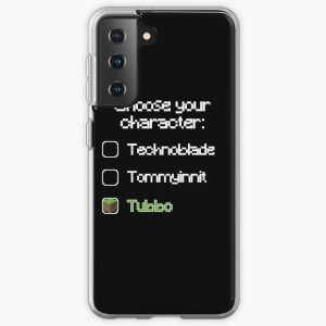 Choose your character - Tubbo Samsung Galaxy Soft Case RB1506 product Offical Tubbo Merch