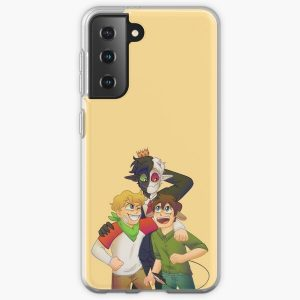 Dream SMP Tommy, Tubbo, and Ranboo Samsung Galaxy Soft Case RB1506 product Offical Tubbo Merch