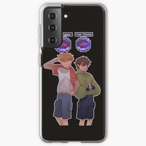 Tommyinnit. Tubbo and Tommy best friend. Samsung Galaxy Soft Case RB1506 product Offical Tubbo Merch