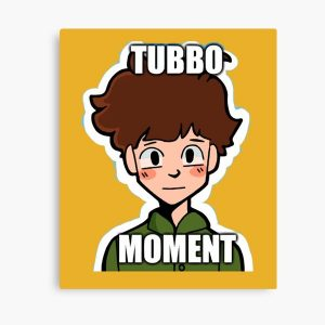 Tubbo Moment Canvas Print RB1506 product Offical Tubbo Merch