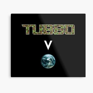 Tubbo above the world - Minecraft Metal Print RB1506 product Offical Tubbo Merch