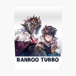 Ranboo Tubbo Poster RB1506 product Offical Tubbo Merch