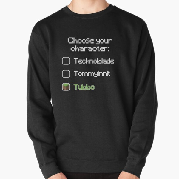 Choose your character - Tubbo Pullover Sweatshirt RB1506 product Offical Tubbo Merch