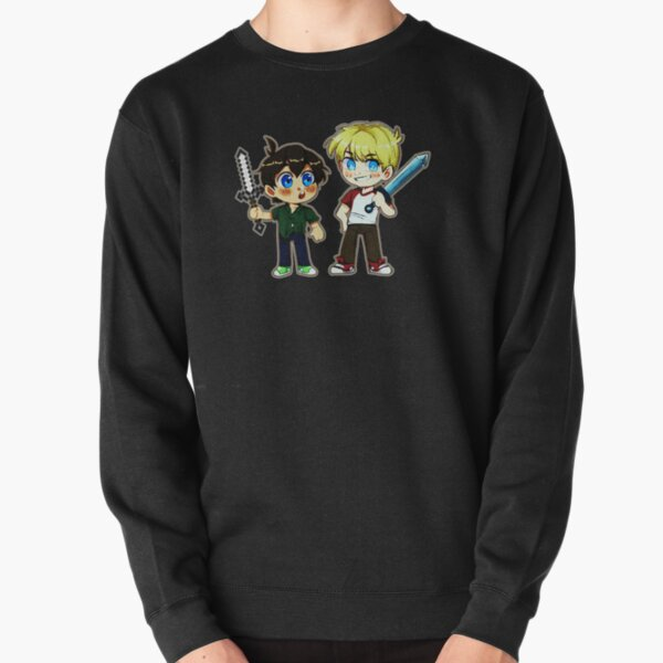 Tubbo and Tommy Pullover Sweatshirt RB1506 product Offical Tubbo Merch