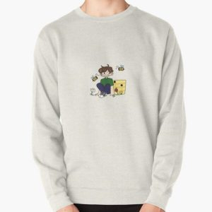 Tubbo w/ his bees! Pullover Sweatshirt RB1506 product Offical Tubbo Merch