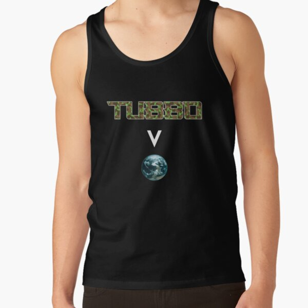 Tubbo above the world - Minecraft Tank Top RB1506 product Offical Tubbo Merch