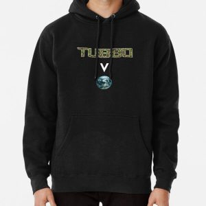 Tubbo above the world - Minecraft Pullover Hoodie RB1506 product Offical Tubbo Merch