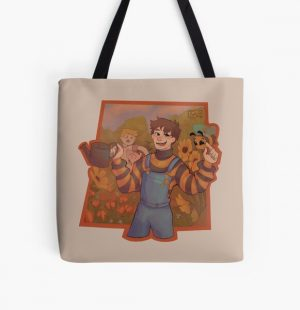 Tubbo and da bee  All Over Print Tote Bag RB1506 product Offical Tubbo Merch