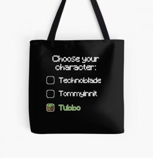 Choose your character - Tubbo All Over Print Tote Bag RB1506 product Offical Tubbo Merch