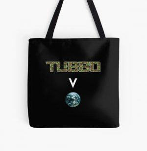 Tubbo above the world - Minecraft All Over Print Tote Bag RB1506 product Offical Tubbo Merch