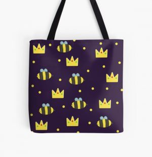 tubbo and ranboo pattern All Over Print Tote Bag RB1506 product Offical Tubbo Merch