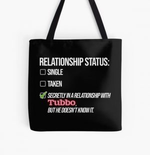 Relationship with Tubbo All Over Print Tote Bag RB1506 product Offical Tubbo Merch