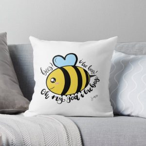 Tubbo bees design Throw Pillow RB1506 product Offical Tubbo Merch