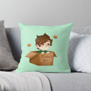 tubbo in a box Throw Pillow RB1506 product Offical Tubbo Merch