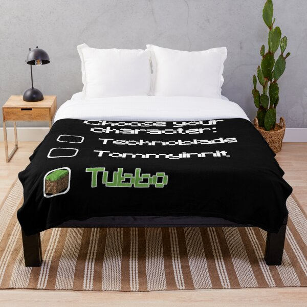Choose your character - Tubbo Throw Blanket RB1506 product Offical Tubbo Merch