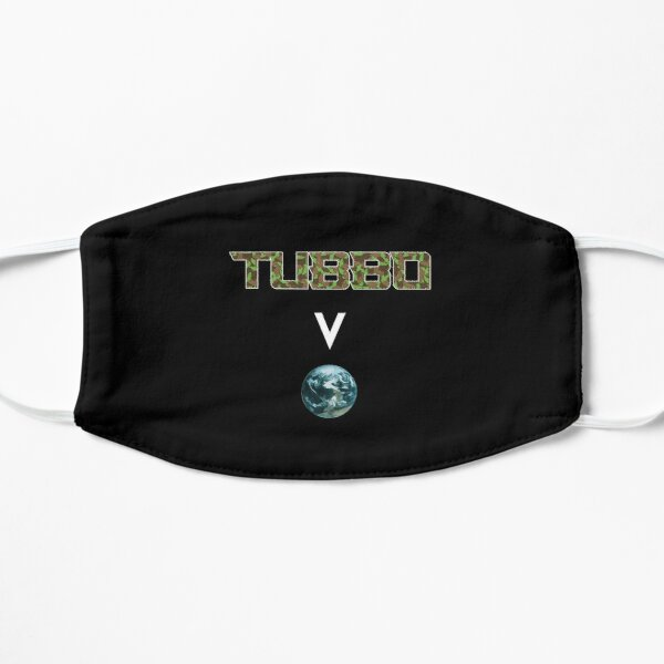 Tubbo above the world - Minecraft Flat Mask RB1506 product Offical Tubbo Merch
