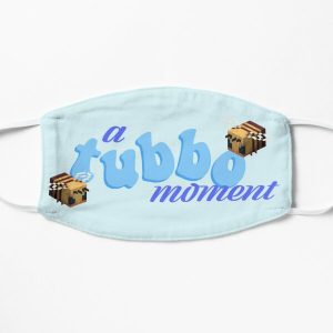 tubbo moment Flat Mask RB1506 product Offical Tubbo Merch