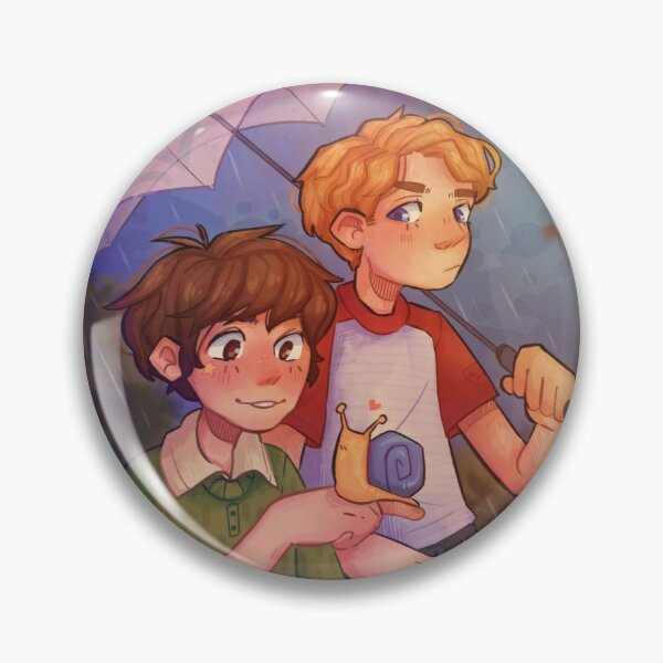 Tubbo and Tommy Snail Pin RB1506 product Offical Tubbo Merch