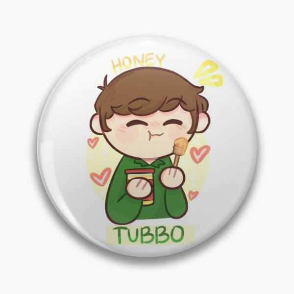 Tubbo (mcyt+food) Pin RB1506 product Offical Tubbo Merch