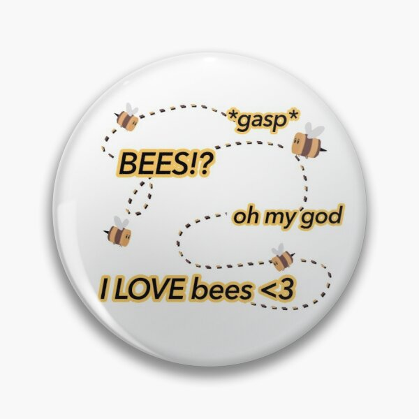 I love bees tubbo dream smp Pin RB1506 product Offical Tubbo Merch