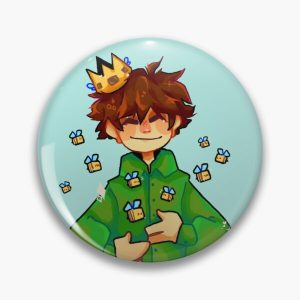 Bee king Tubbo! Pin RB1506 product Offical Tubbo Merch