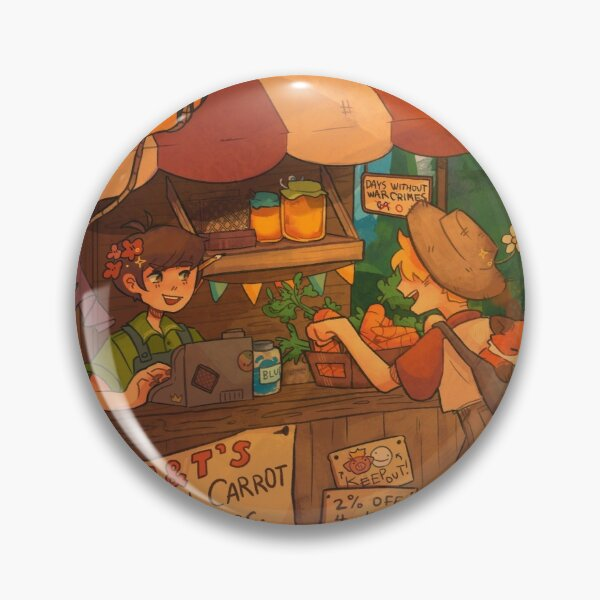 Tubbo and Tommy Farm Pin RB1506 product Offical Tubbo Merch