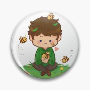 Tubbo with his bees Pin RB1506 product Offical Tubbo Merch